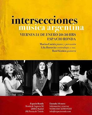Nuevo presentación con Lila Horovitz y Raúl Chiochio