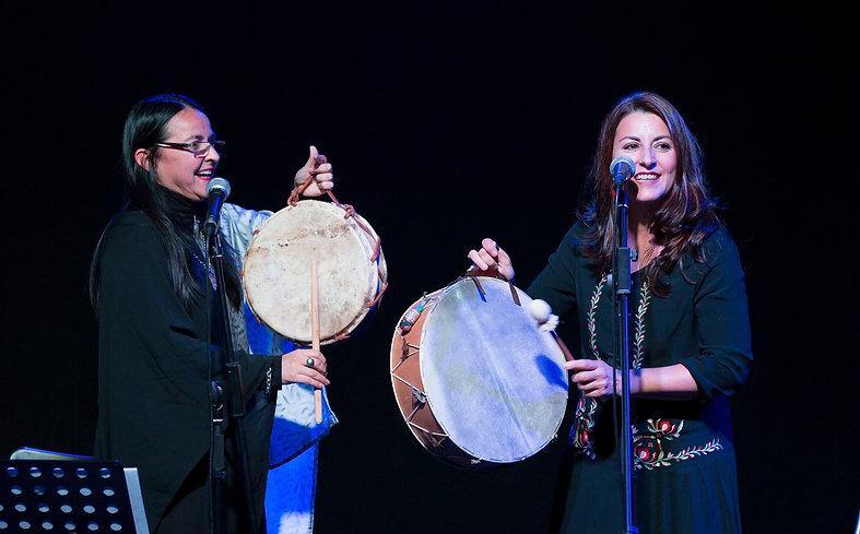 Invitada de Nilda Godoy y Cacho Hussein