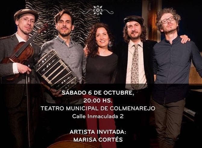 Invitada especial en concierto con el Grupo ASTOR