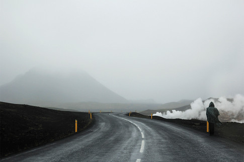 Heat Overcomes Light // Myvatn, Iceland