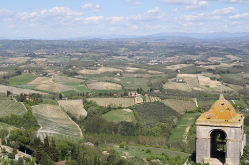 A View From Above, Tuscany