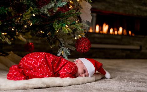 Christmas Christmas 2018 newborn baby newborn photographer