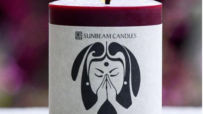80 Hour Gratitude Candle Pillar