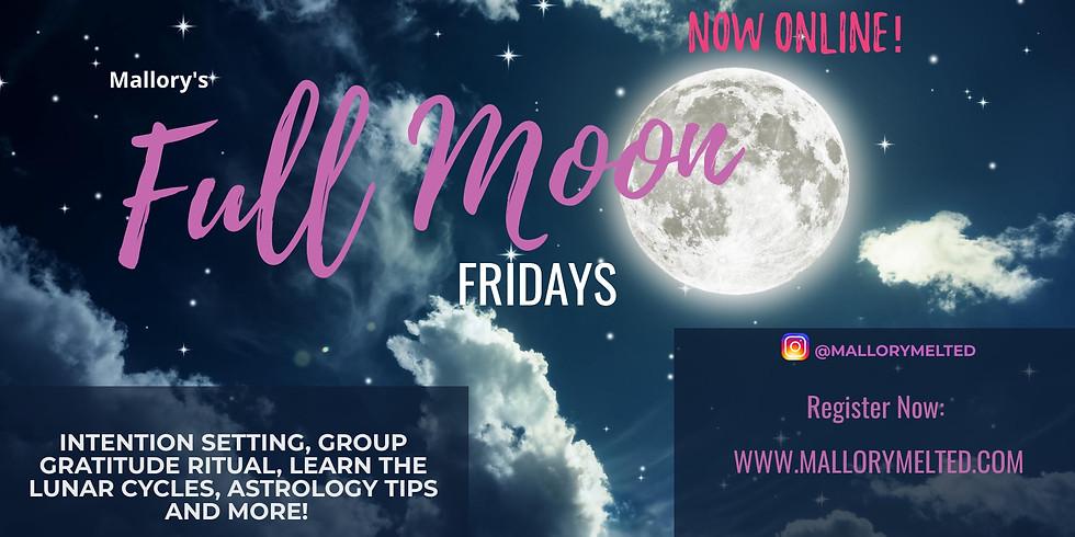 Full Moon Friday - Online Event via Zoom