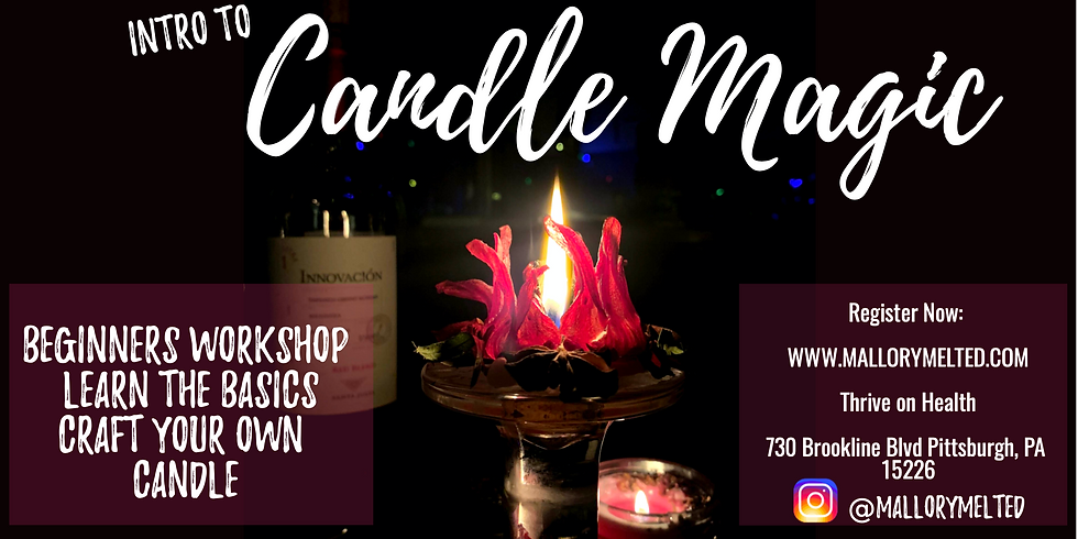 Intro to Candle Magic