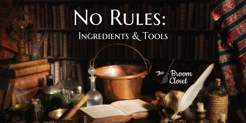 No Rules: Ingredients, Totems & Tools