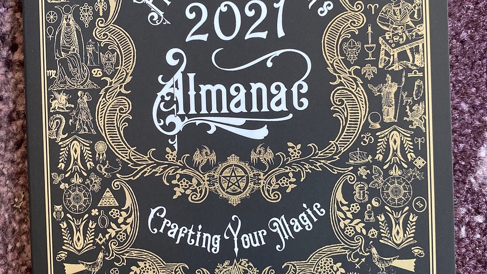 The Practical Witches Almanac 2021