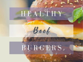 Healthy Beef Burger Recipe