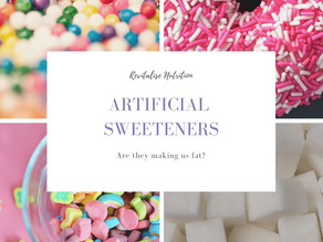 Are artificial sweeteners making us fat?