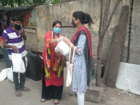 Project #MyPincode Impact Story 6: Ration Supply for Rescued Domestic Abuse Victims