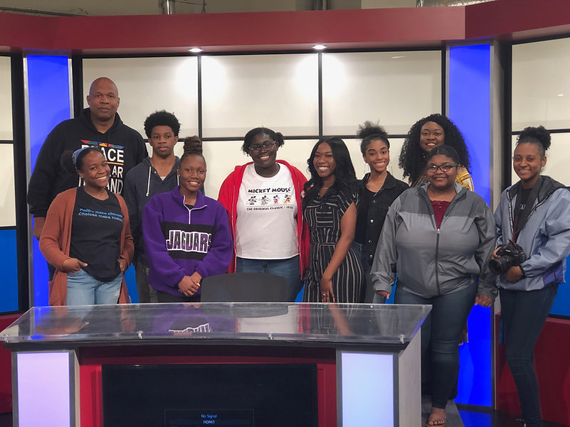 REACH Memphis LeadONE Council pictured at the 88.5 FM studio