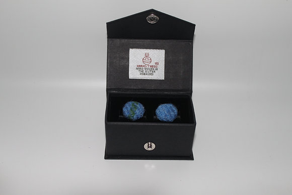 Blue Tartan Cufflinks