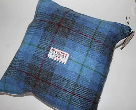 Blue Tartan Cushion