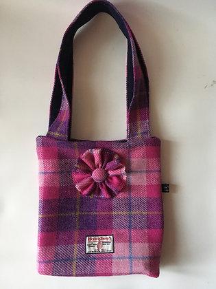Pink Tartan Handbag