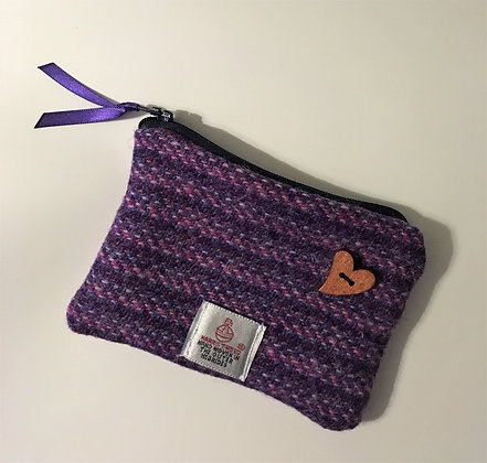 Purple Kaona Coin Purse