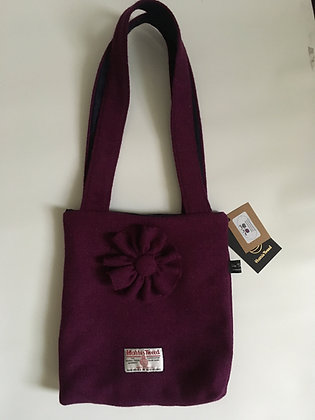 Plain Fuschia Handbag