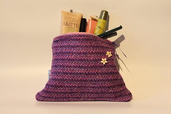 Purple Kaona Make Up Bag