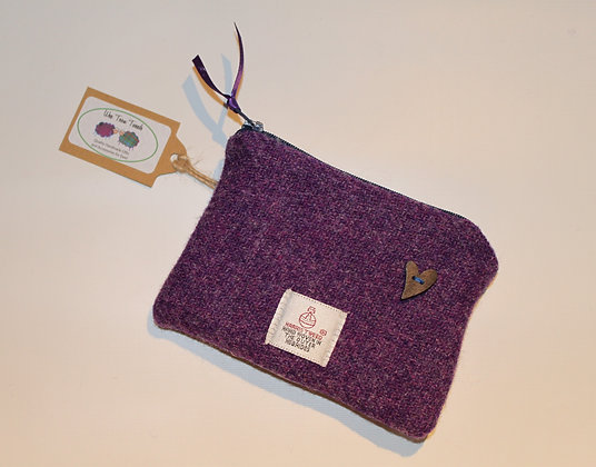 Plain Purple Coin Purse