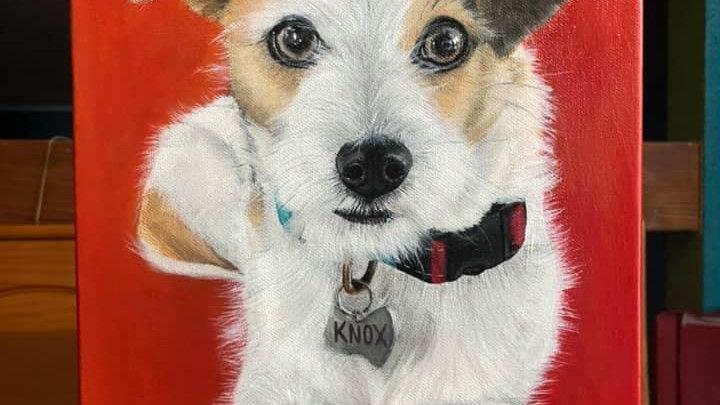 11x14 Inch Custom Pet Portrait