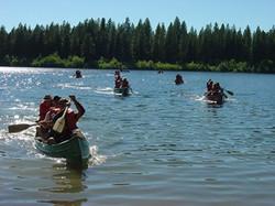 lake canoe