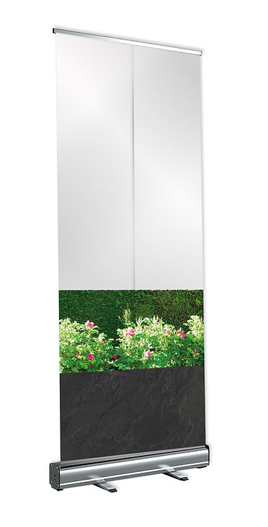 Pull-up Protection Screen (Slate/Flowers)