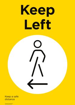 Keep-Left-A4-AW