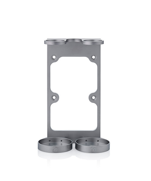 Pasture Naturals Stainless Steel Double Wall-Mounted Holder