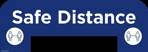 Safe Distance Queue Management Floor Sticker
