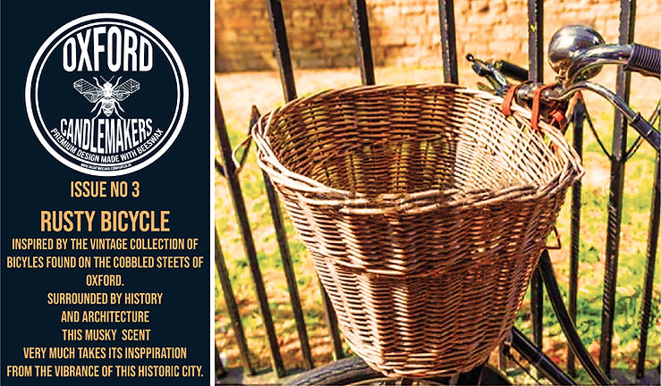 The Rusty Bicycle Collection By The Oxford Candlemakers