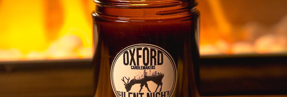 SILENT NIGHT 180ML AMBER GLASS