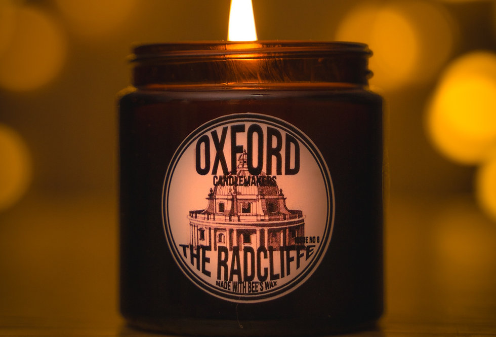 THE RADCLIFFE 120ML AMBER GLASS
