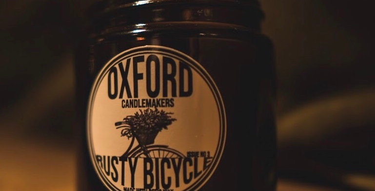 THE RUSTY BICYCLE 120ML AMBER GLASS