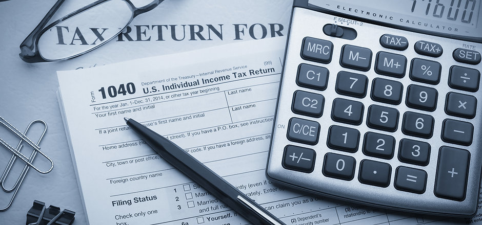 Calculating numbers for income tax retur