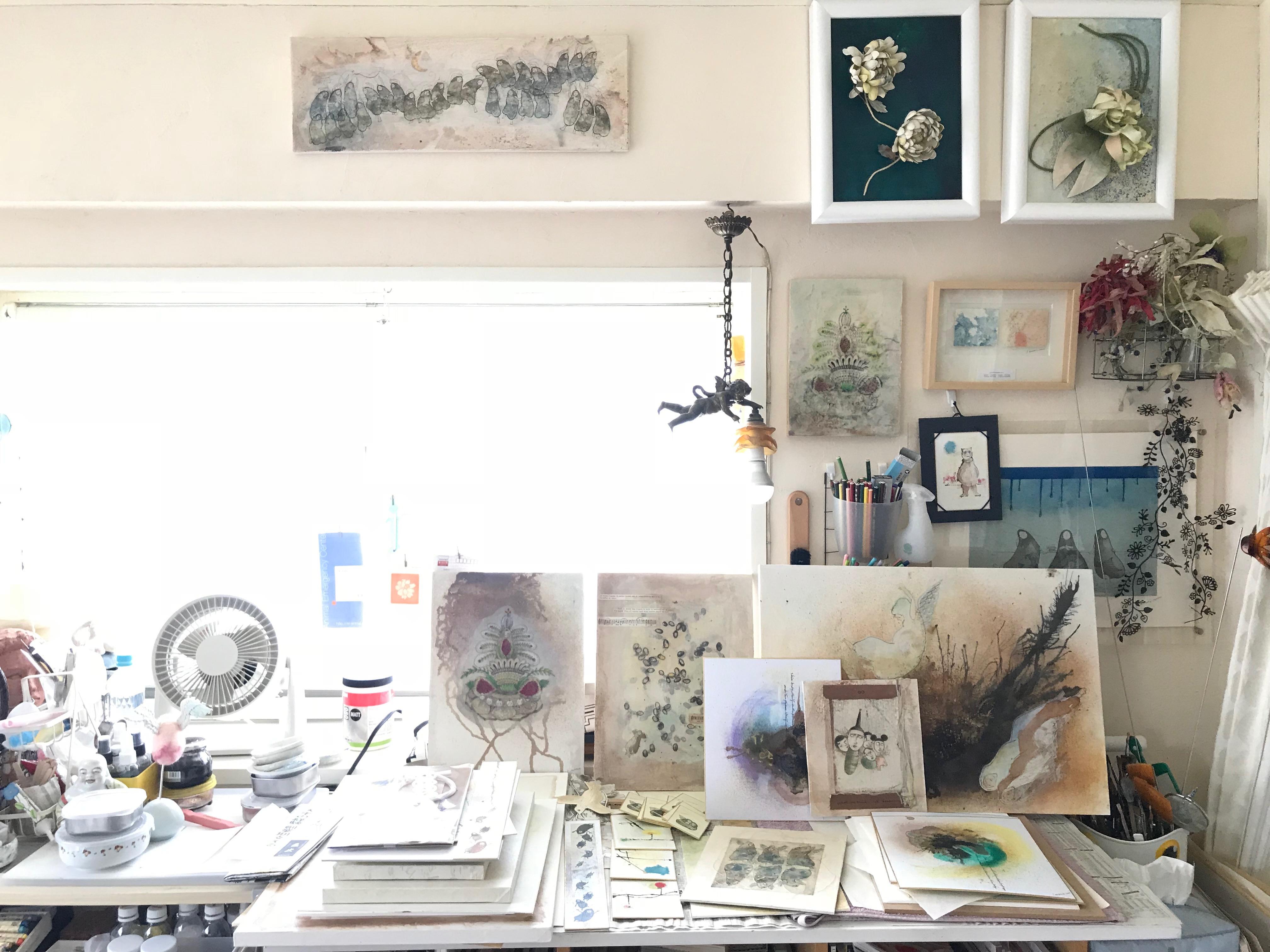 My atelier in Tokyo