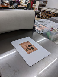 Printed by press