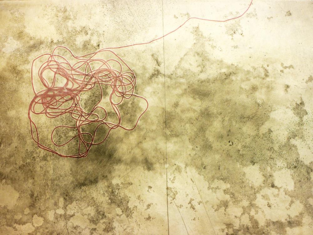 土の記憶 緋糸 Memoire- Un fil rouge