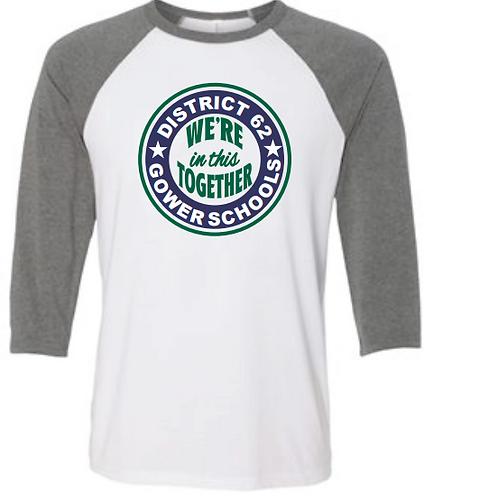 District 62 - 3/4 Sleeve Shirt