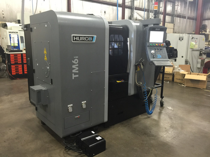 Service Department Install Hurco TM6i