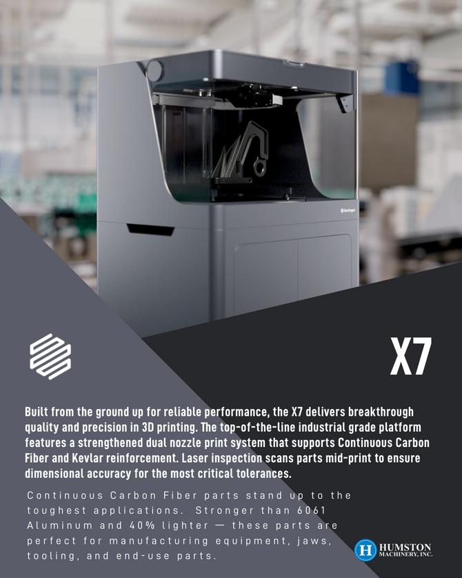 Markforged 3D Printer - X7