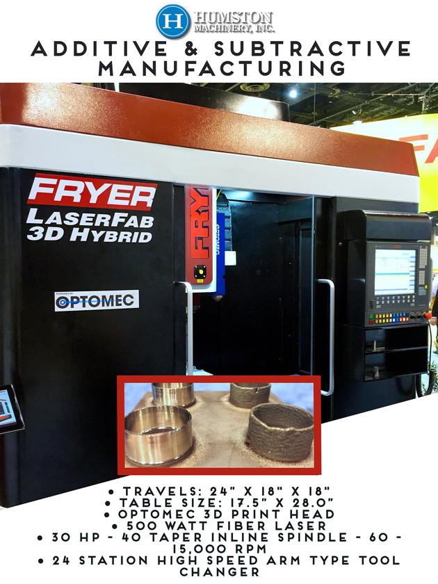 Fryer has a new machine!