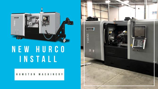 Hurco TM12i Install Indiana