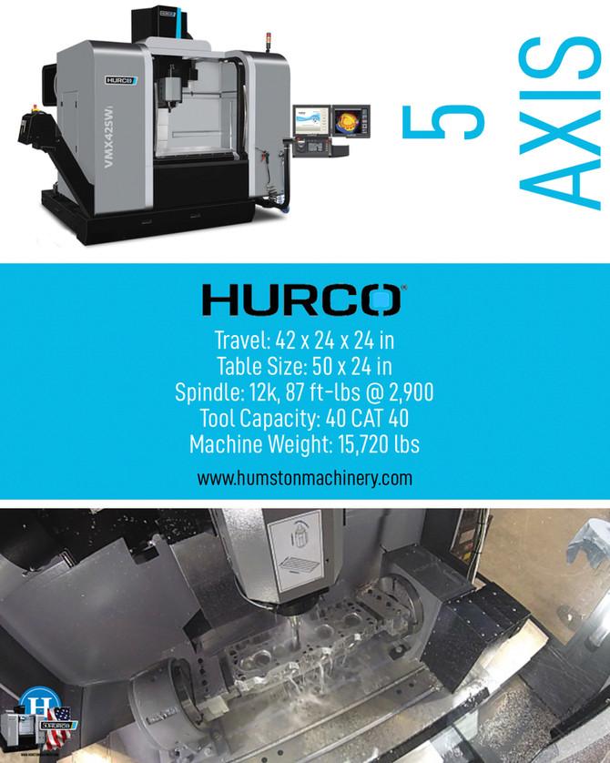 Hurco 5 Axis