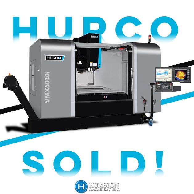 Hurco VMX6030i Sold