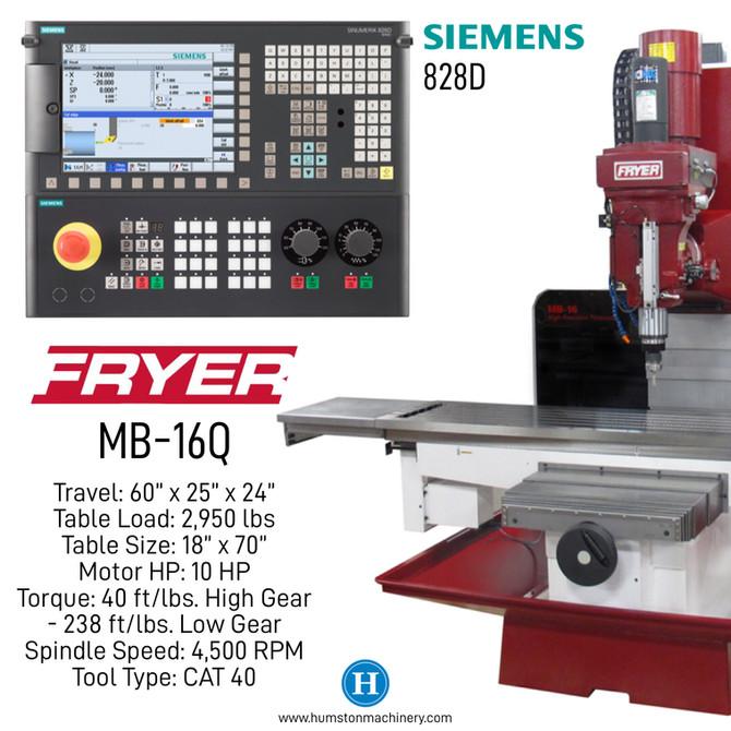 Fryer Toolroom Mill