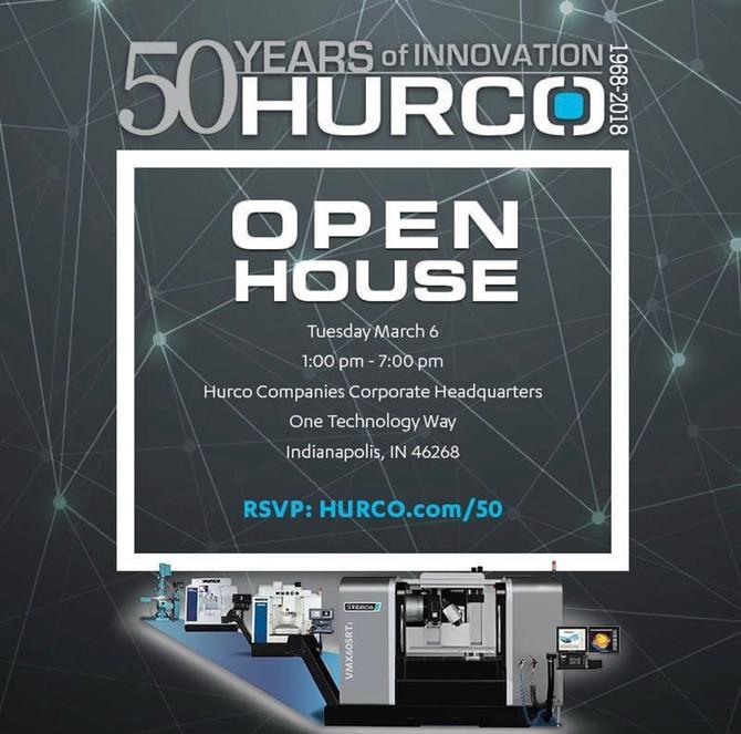 Hurco Open House
