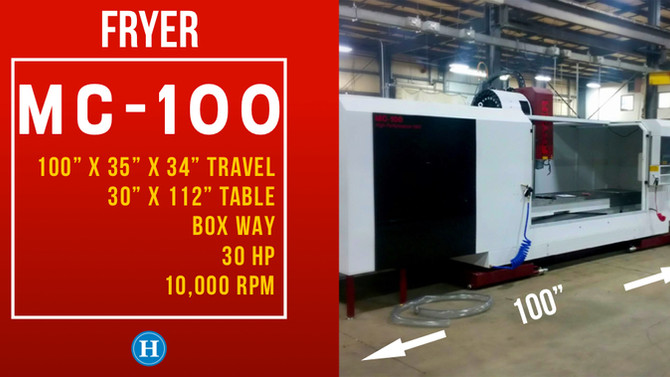 Fryer MC-100 CNC Machining Center