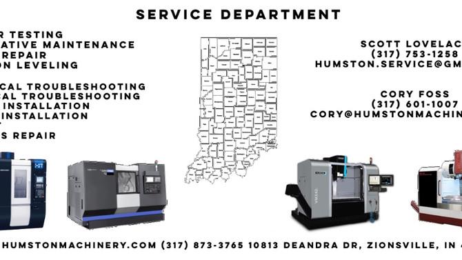 CNC Service Department