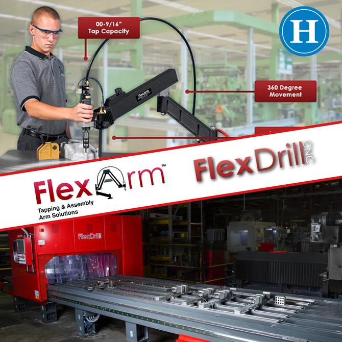 Flex Arm & Flex Drill now available