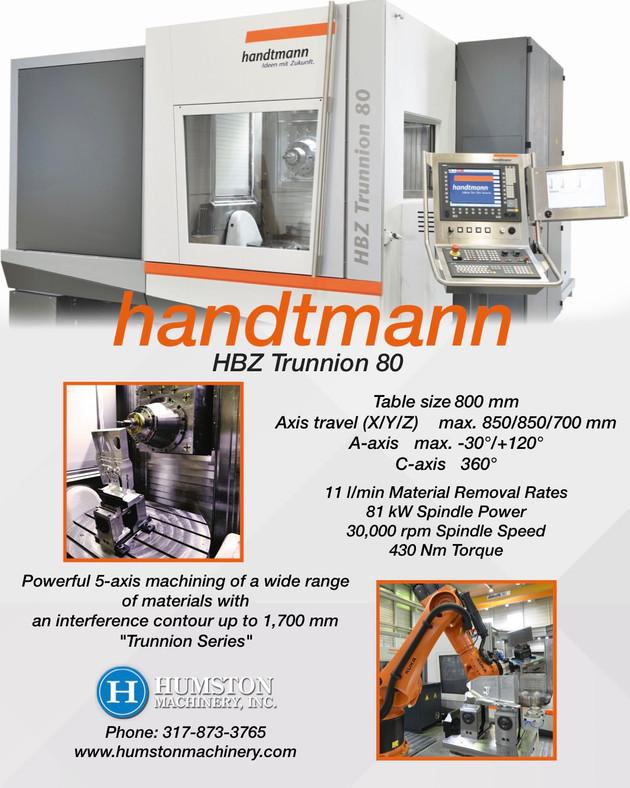 Handtmann HBZ Trunnion 80