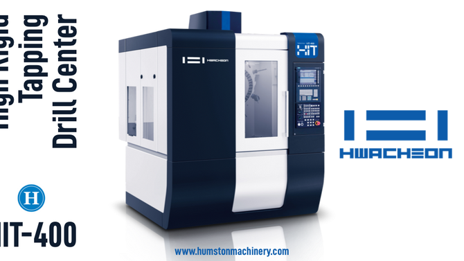 Hwacheon HIT-400 Tapping Center
